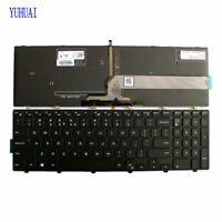 New for Dell Inspiron 17 5759 5758 5755 Keyboard US backlit Black
