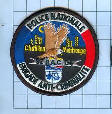 International Police Patch - POLICE NATIONALE BRIGADE ANTI-CRIMINALITE 92 BAC D4