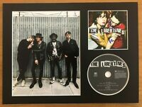 The Libertines   **HAND SIGNED**  16x12 mounted display ~ AUTOGRAPHED