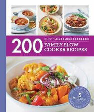200 Family Slow Cooker Recipes Hamlyn All Colou by Sara Lewis Paperback Book