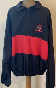 Vintage 90's Orlando PREDATORS Windbreaker Jacket Pullover XL AFL Arena Football