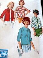 *LOVELY VTG 1960s JACKETS Sewing Pattern 10/31