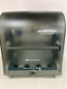 enMotion Touchless Paper Towel Dispenser Translucent Smoke 59462 Georgia Pacific