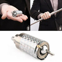 Silver Metal Appearing Cane Wand Stick Stage Magic Trick Gimmick New #RG