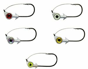 Z-Man Weedless Eye Jigheads 3 pack  PICK of weight and colors FEDEX 2 Day Read