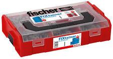 fischer FIXtainer Die SX-Dübel Sortiment*NEU* Sortimentsboxen Stapelboxen
