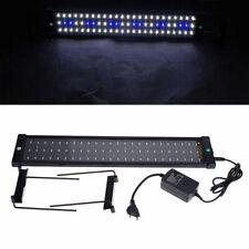 Lámpara 72-LED Acuario Ultrafin 11W Luz Blanco Frío Celeste Protecdor Agua Pez
