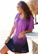Strandkleid, Beach Time, Dip-dye-Farbverlauf. Gr. 48/50. NEU!!!