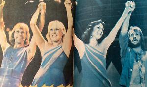 ABBA Rare Turkish Magazine