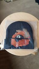 Supreme Martin Wong 8 Ball Black Beanie Hat 100% Authentic Dead Stock