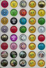 5 séries génériques en relief (33 capsules ) + nouvelle série de 6 nouvels  20 €