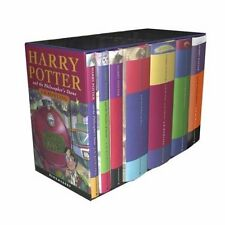 Harry Potter Childrens UK Edition Box Set by Bloomsbury of London (Out of print)