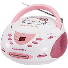 Hello Kitty CD AM/FM Radio Boombox Stereo KT2024A