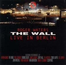 ROGER WATERS - THE WALL: LIVE IN BERLIN, 1990 [REMASTERED] [REMASTER] (NEW CD)