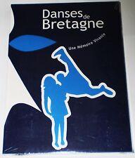 DANSE DE BRETAGNE  UNE MEMOIRE VIVANTE  MUSIQUE CELTIQUE  COFFRET  2 DVD   NEUF