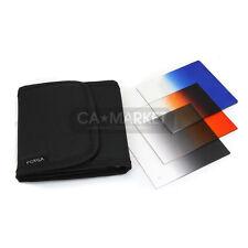 Gradual Blue /Orange /Grey filters set for cokin p series