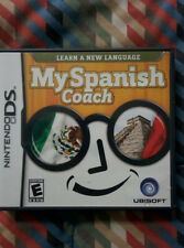 USED Nintendo DS Learn Language Education MY SPANISH COACH Beginners COMPLETE