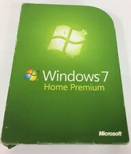 Microsoft windows 7 home premium 32bit Only with DVD FULL Version