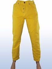 jeans uomo giallo AMERICANINO MADE ITALY tg IT 45  W 31 DE 39