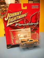 "JOHNNY LIGHTNING 1971 PONTIAC FIREBIRD FORMULA  GOLD ""NIP"""