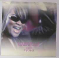 Gabrielle - When A Woman Promo CD Single 1 Track 1999