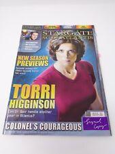 Stargate SG 1 Atlantis Official Magazine #11 2006 *Signed Copy* Read Description