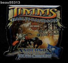 TIMMS ANDERSON SOUTH CAROLINA HARLEY DAVIDSON DEALER DEALERSHIP VEST JACKET PIN