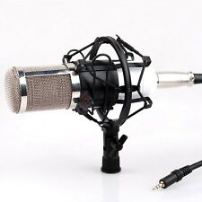 Professional Condenser Sound Podcast Studio Microphone F PC Laptop Skype MSN WHT