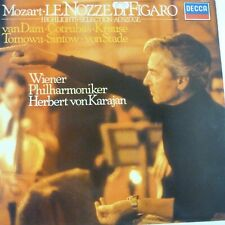 lp vinyl MOZART le nozze di figaro highlight selection Wiener Phil Karajan DECCA