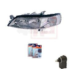 Scheinwerfer links Opel Vectra B H7+h7 inkl. OSRAM Lampen Motor