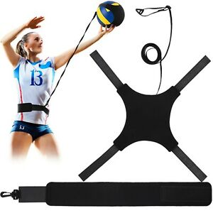 Volleyball Training Equipment Aid, Soccer Solo Practice Trainer for Serving, ...
