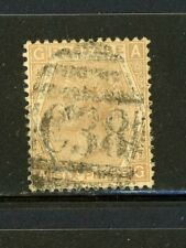 Great Britain- Scott 59b, Plate 12 , C38 Callao Cancel