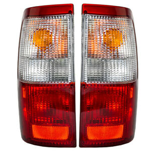 Fits Toyota T100 93-98 Truck Set of Taillights Tail Lamps w/ Housing Assembly