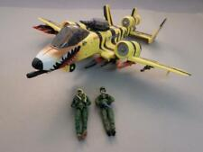 Hasbro 2002 G.I. Joe Tiger Force Rat Rattler A10, Jet w/Figures