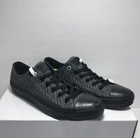 Converse Womens Size 8.5 Lunarlon Knit CTAS II Low Textile Black Shoes Sneaker