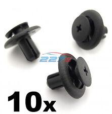 10x 7mm plastique trim clips pour subaru roue arch doublure & moteur bay covers
