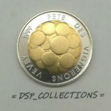 SUISSE / Switzerland - 5 francs 1999 B, FÊTE VIGNERONS VEVEY bimétallique // UNC