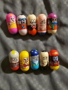 Mighty Beanz Series 1 Lot of 10 Beans, NO DUPLICATES - GREAT Condition! RARE!