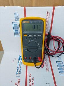 Fluke 87 V True RMS Multimeter W/ Leads, Good Condition (Fast Shipping)