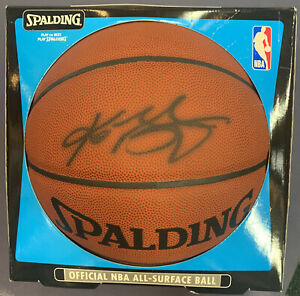 Kobe Bryant Lakers Signed NBA Basketball Rookie Autograph PSA DNA CERTIFIED