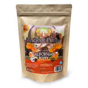 CALIFORNIAN POPPY (CALMING / EUPHORIA / Vitamins A,C,E) 130g