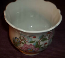 "Vintage DOLPHIN Japan China Flower Pot  6 "" ACROSS"