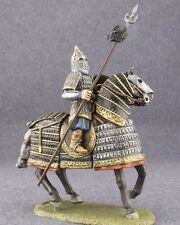 Toy Tin Soldier Heavy Mounted Horse Rider Mongolian Cavalry 1/32 Painted Figure