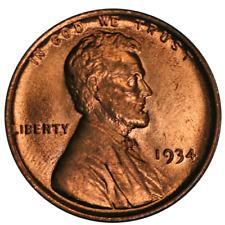 1934-P Lincoln Cent Choice BU