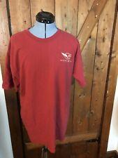 Corvette Tee Shirt Rust Color Large Gildan Activewear Ultra Cotton Heavy Weight