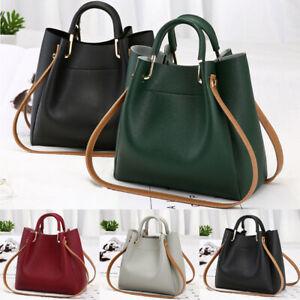 Women Leather Messenger Hobo Bag Satchel Lady Handbag Shoulder Bags Tote Purse