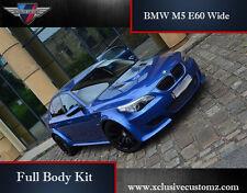 Bmw M5 E60 Wide Arch Full Body Kit Pour BMW Série 5 E60