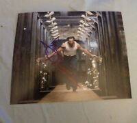 HUGH JACKMAN SIGNED 8X10 PHOTO WOLVERINE W/COA+PROOF RARE WOW