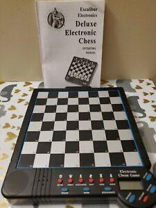 Excalibur Deluxe Electronic Chess Game 901E-4 Teach Mode +73 Level Saber IV 4