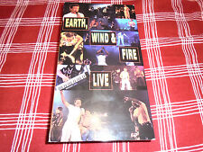 EARTH, WIND & FIRE LIVE VHS TAPE LOOK